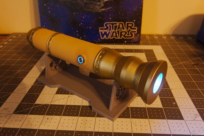 3D Printed Lightsaber with Electronics - The Sage