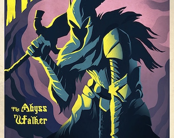 The Abyss Father dark soul poster  Art Poster High Quality Material Decoration Gift