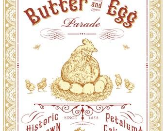 Petaluma Butter & Egg Poster 2016