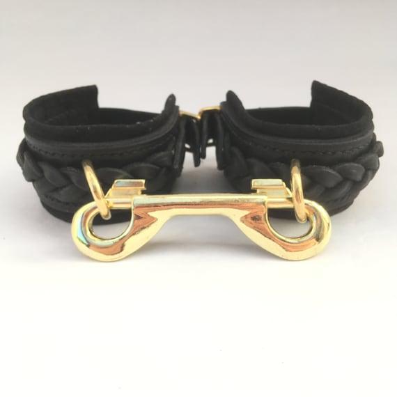 Leather Belt Woman Belt,Leather Cuffs Set Bdsm Belt with handcuffs Hand Wristlets,Women Harnesses Mature BDSM Toys Leather Bondages