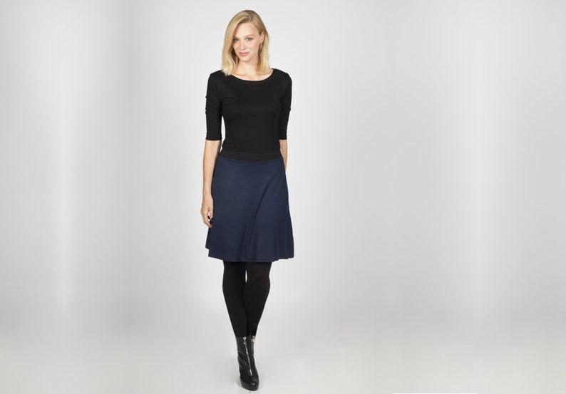 Dress Calla blue black image 0