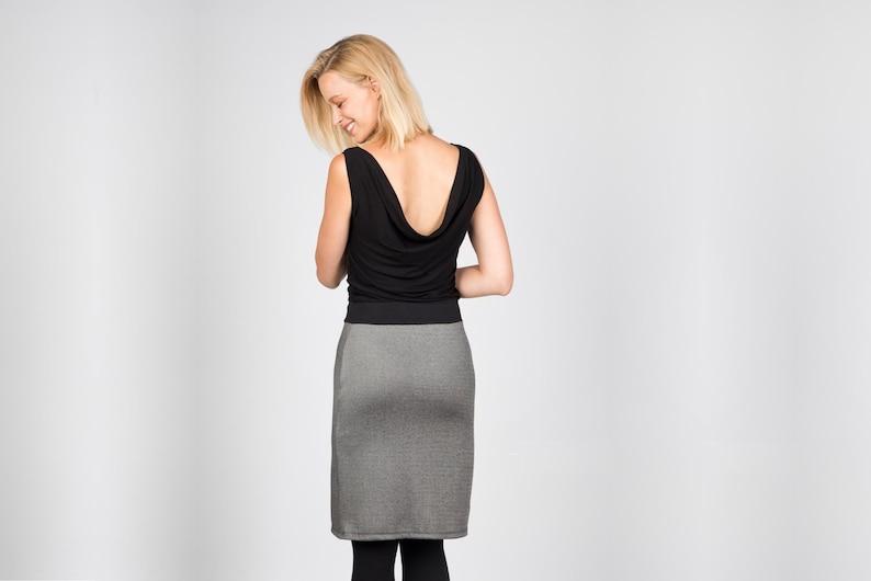 Dress Alexa Black Silver image 0