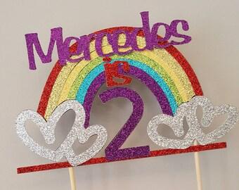 Rainbow Birthday Personalized