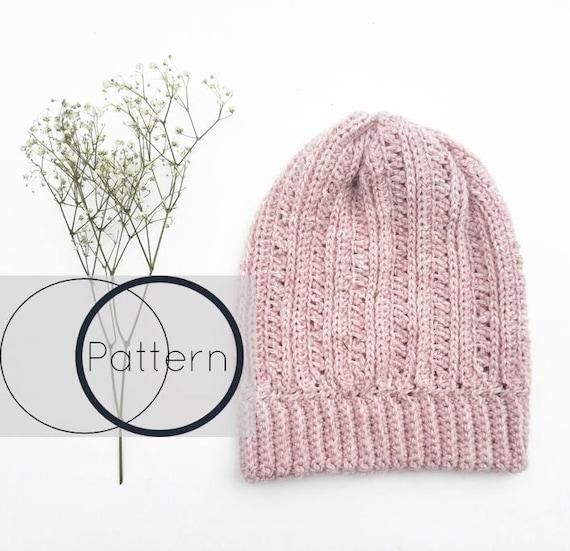Crochet Hat Pattern Easy Crochet Beanie Patternbeginner Etsy