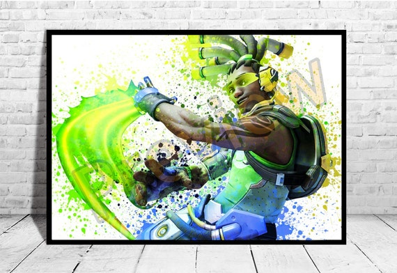 Lucio Poster Gaming Room Decor Overwatch Lucio Overwatch  9c4dc2d2e818