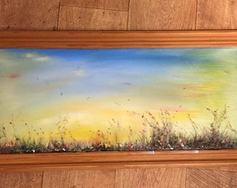 ORIGINAL BEAUTIFUL ARTWORK (Amazing Presents, on recycled frames with there very own spirit:-)