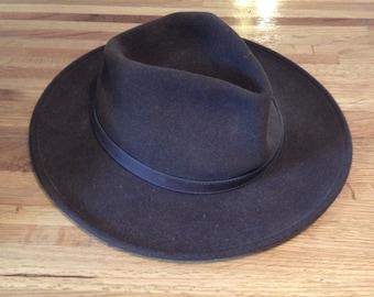 56e23332a0c Pendleton Brown Fedora Wool Hat