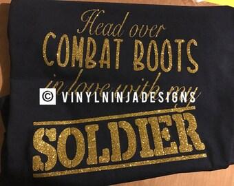 Head over Combat boots Love