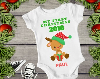 522c39c50 best 8b9e8 b1950 baby christmas outfit unisex my first ...