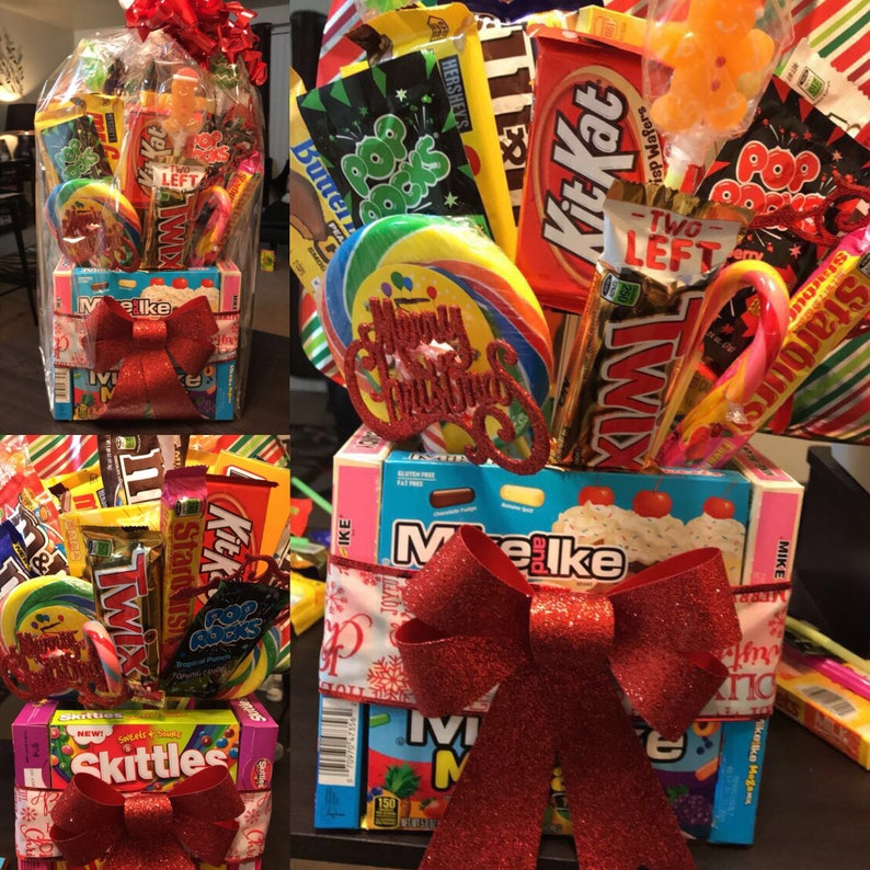 Large Candy Bouquet Birthday Gifts Gift Basket Edible