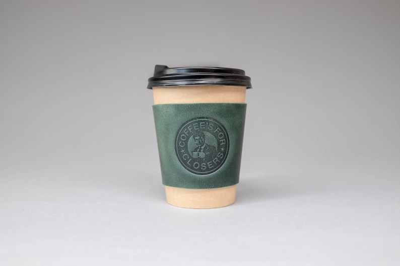 Coffees for closers  Glengarry Glen Ross coffee cup sleeve. image 0
