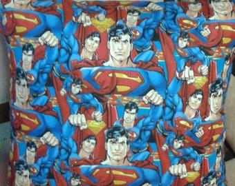 Superman Cushion Cover - Handmade