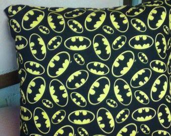 Batman Cushion Cover - Handmade