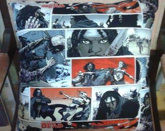 Walking Dead Cushion Cover - Handmade