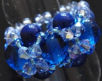 Blue Antique rings