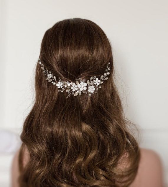 Bridal hair piece Wedding headpiece Bridal