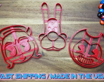 Bendy and the Ink Machine Cookie Cutters. Throw a Bendy and the Ink Machine themed Party with custom cookies!