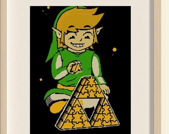 BUY 2, GET 1 FREE! The Legend of Zelda/'I'm not Zelda Cross Stitch Pattern/ pdf counted cross stitch pattern/ Instant Download/ #C6
