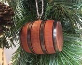 Barrel Christmas Ornament