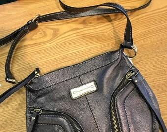 Franco Sarto Leather Cross-body Purse