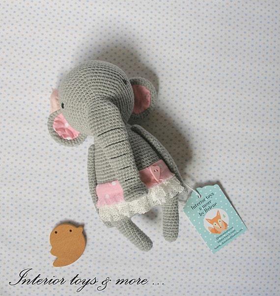 Crochet Elephant Amigurumi Easy Video Instructions   603x570