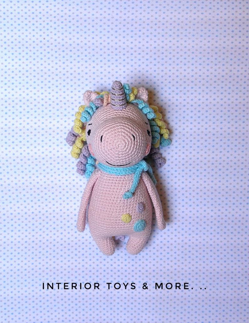 Cute Crochet Unicorn Amigurumi - Free Patterns - DIY 4 EVER   1029x794