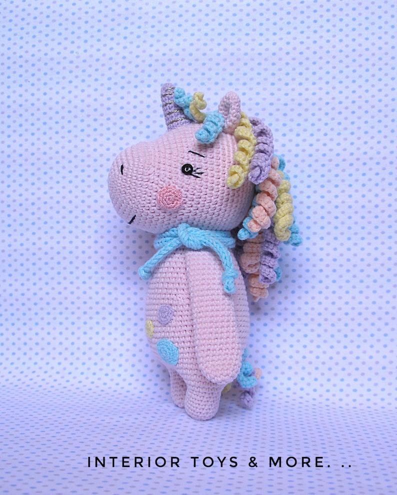 Nuru the Unicorn Amigurumi Crochet Pattern   989x794