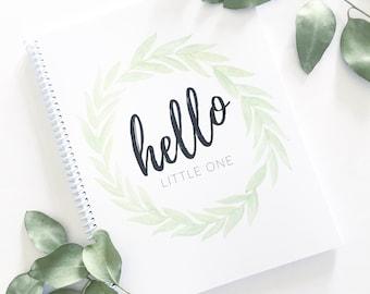 Baby Book | Modern Baby Album, Baby Journal, Gender Neutral, Baby Shower Gift, Scrapbook, Baby Boy, Baby Girl, Pregnancy Journal