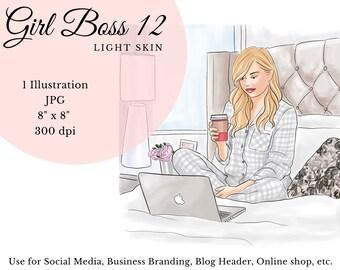 Girl Boss Illustrations
