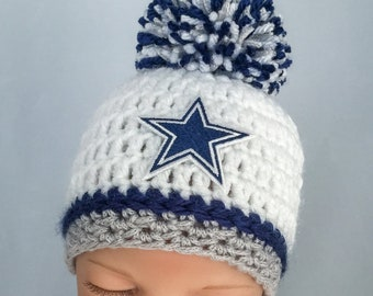Dallas Cowboys baby hat