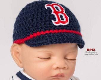 Boston Red Sox baby hat baby baseball cap c69322b7afd