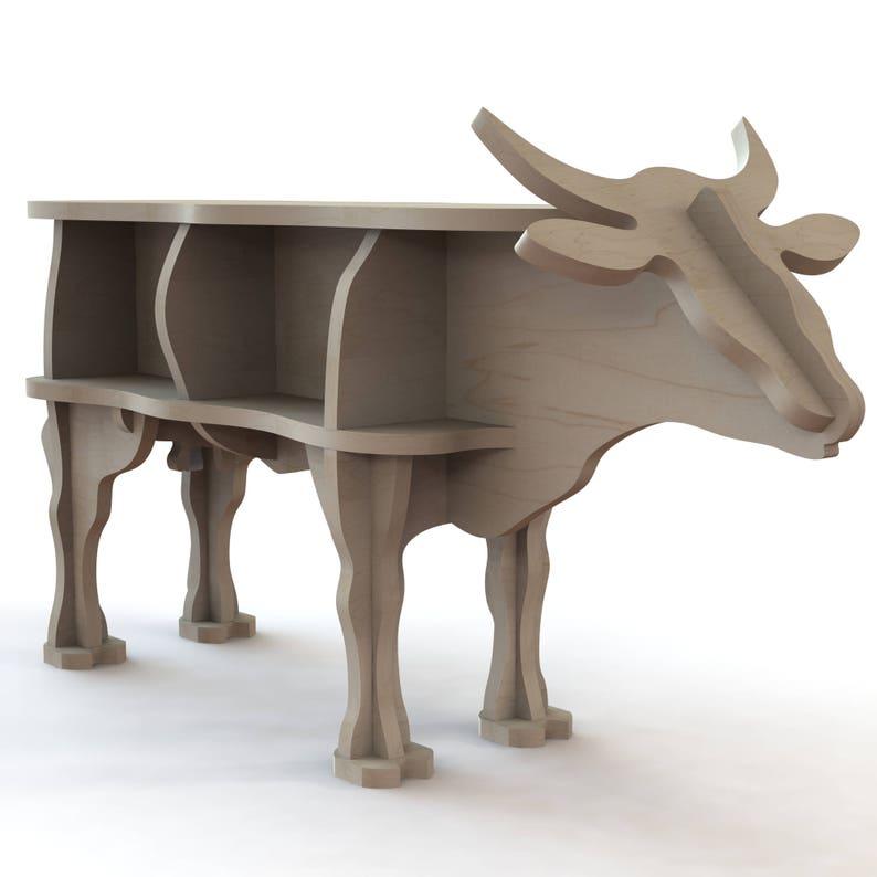 18mm De Espesor De Pie De Madera MDF En Blanco Forma De Elefante Artesanía Decoración
