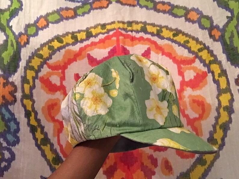 Vintage Raw Silk Pageboy Hat