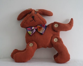 Unique Dog Hand-made/Soft Toy/Children's Gift/Stuffed Animal