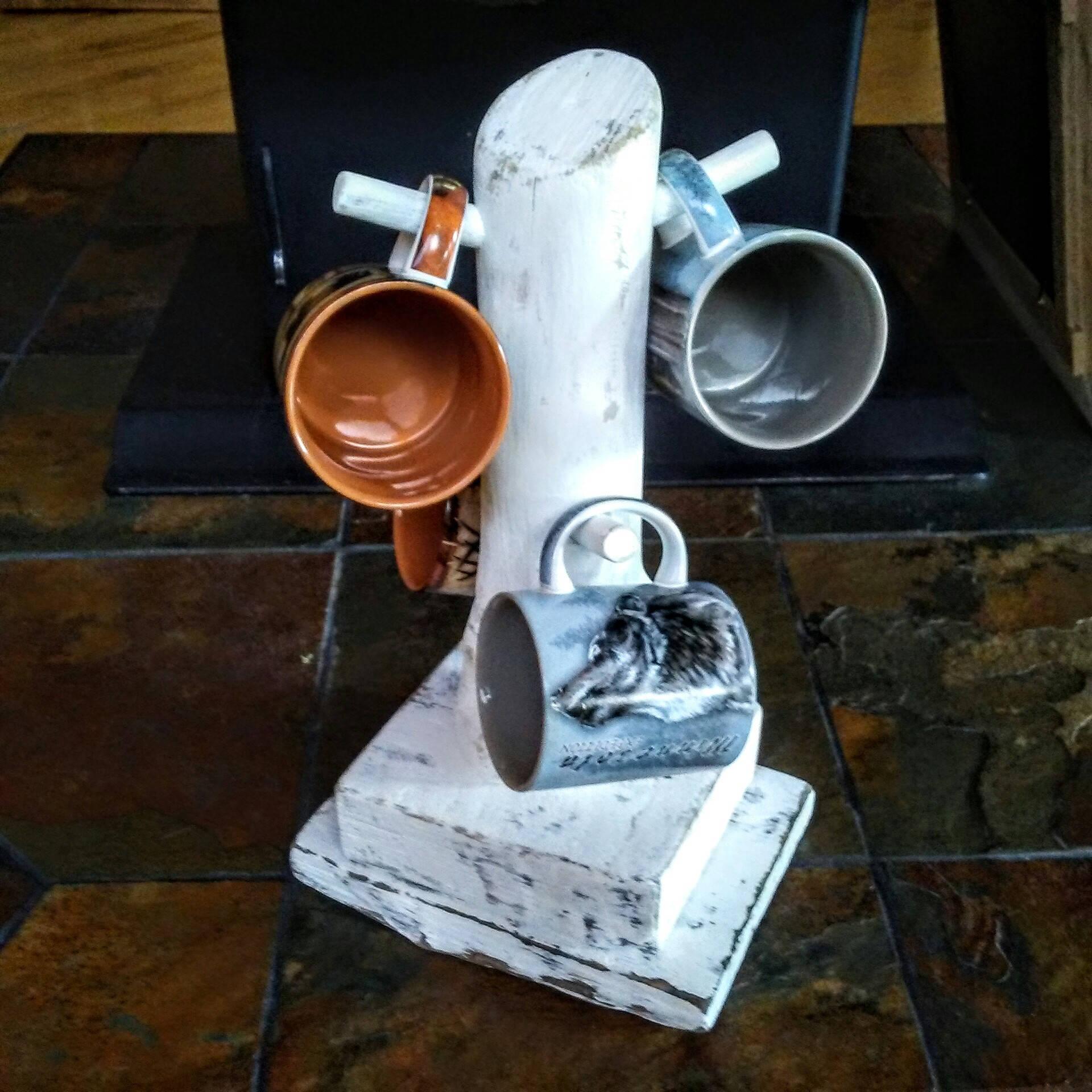 Coffee Mug Stand Mug Tree Mug Stand Cup Holder Cup Stand Etsy