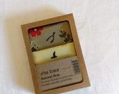Beeswax wrap - Organic cotton - 2 pack - Various fabrics