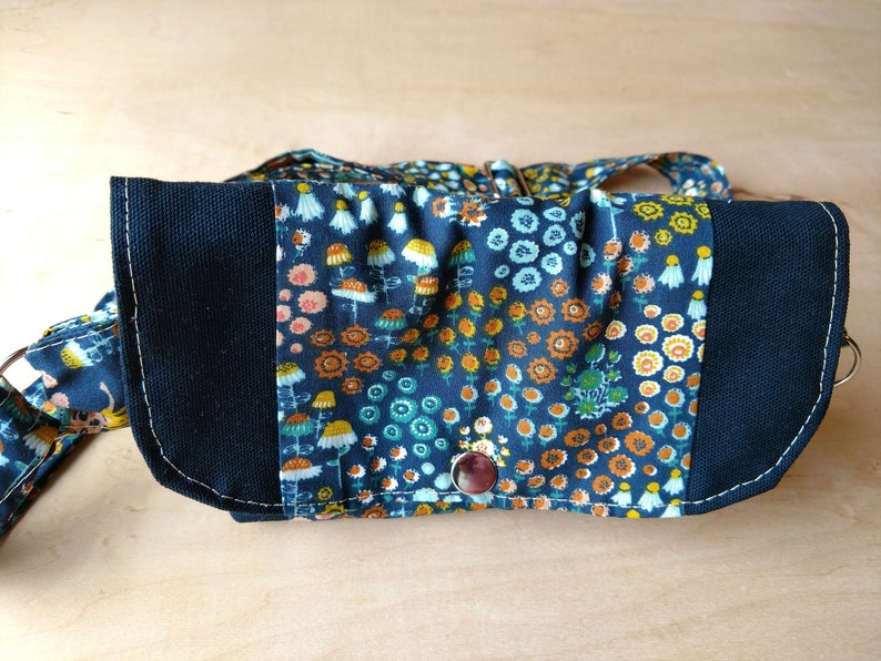 Organic cotton fanny pack All natural materials image 0