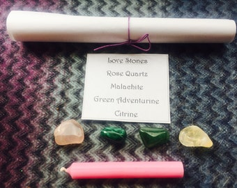 Love Manifestation / Love Attraction Kit / Love Ritual Kit / White Magic Kit + Reiki Charged