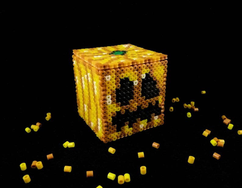 Minecraft Kürbis Laterne Halloween Etsy