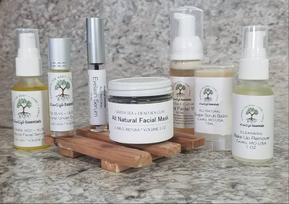 Deluxe Spa Set Facial Care Gift Set All Natural Skincare | Etsy