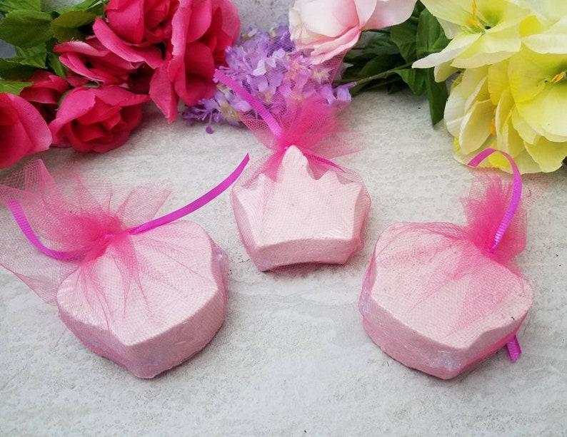6e8d4d1ada81e 10 Pink Princess Bath Bombs - Princess Party Favors - All Natural Bath  Bombs - Princess Party Decor - Subscription Box - Wholesale - Spa