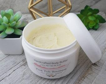 Body Butter - All Natural Body Butter - Body Lotion - Organic Body Butter - Natural Skincare - Shea Butter - Moisturizer - Vegan Body Butter