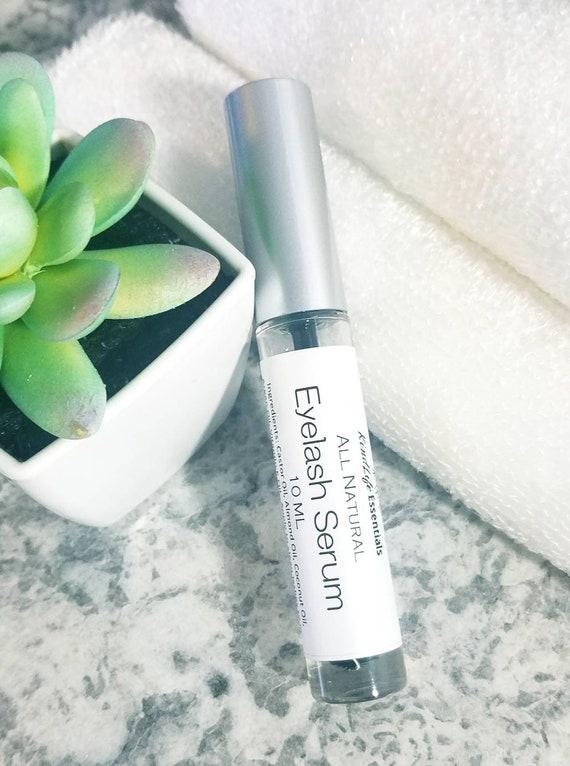 Eyelash Serum Natural Eyelash Growth Serum Lash Etsy