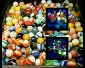 12 Peltier Marbles - Great UV and Black Light Reactivity