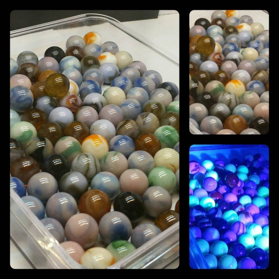 or CHOCOLATE SWIRLS CHAMPION MARBLES MARBLES 20 POUNDS OF 5//8/""