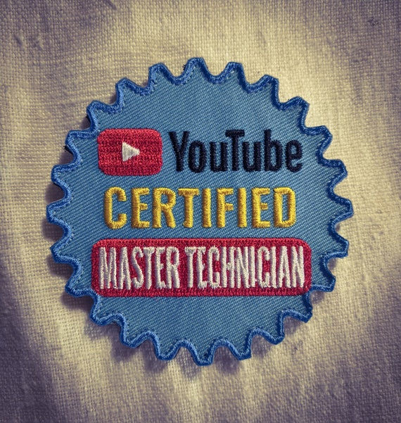 YOUTUBE CERTIFIED Master TECHINICAN superb Patch Hook and Loop | Etsy