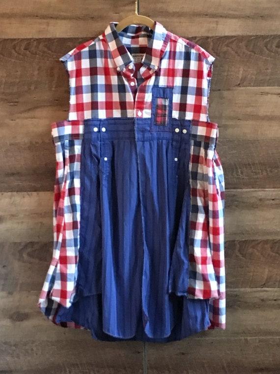 7607ba9de09 XXL Tunic Plus Size Tunic Summer Sleeveless Tunic 4th of