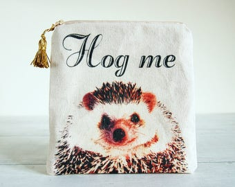 Hedgehog small pouch,Hedgehog coin case,Hedgehog coin pouch,Hedgehog zip pouch,Hedgehog Purse,Hedgehog gift,Hedgehog stuff, Mothers day gift