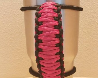 Paracord Tumbler Handle 30oz Or 20oz Fits Yeti Rtic Bison