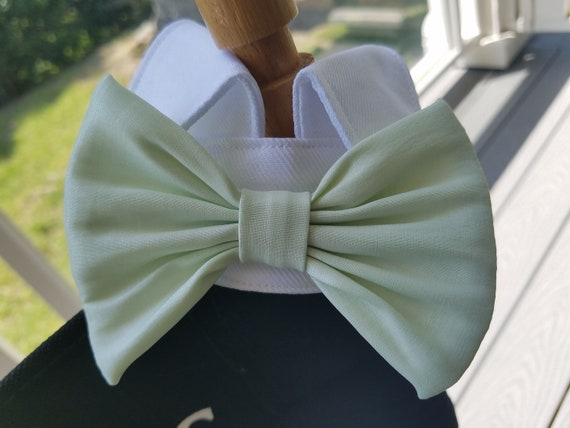 reputable site great look enjoy complimentary shipping Tuxedo Dog Collar Any Color Bow Tie ~Mint Green Holiday ~Puppy ~Wedding  ~Fancy Dog ~Special Occasion ~Black Tie ~Dog Costume ~Dog Clothes
